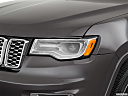 2019 Jeep Grand Cherokee Overland, drivers side headlight.