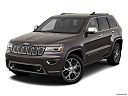 2019 Jeep Grand Cherokee Overland, front angle view.