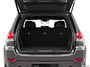2019 Jeep Grand Cherokee Overland, trunk open.