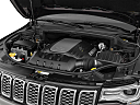 2019 Jeep Grand Cherokee Overland, engine.