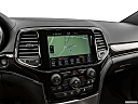 2019 Jeep Grand Cherokee Overland, driver position view of navigation system.