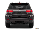 2019 Jeep Grand Cherokee Overland, low/wide rear.