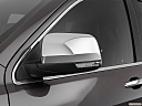 2019 Jeep Grand Cherokee Overland, driver's side mirror, 3_4 rear