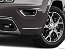 2019 Jeep Grand Cherokee Overland, driver's side fog lamp.