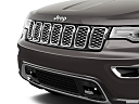 2019 Jeep Grand Cherokee Overland, close up of grill.