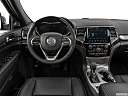 2019 Jeep Grand Cherokee Overland, steering wheel/center console.