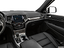 2019 Jeep Grand Cherokee Overland, center console/passenger side.