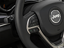 2019 Jeep Grand Cherokee Overland, steering wheel controls (left side)