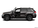 2019 Jeep Grand Cherokee Laredo E, driver's side profile with drivers side door open.