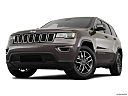 2019 Jeep Grand Cherokee Laredo E, front angle view, low wide perspective.