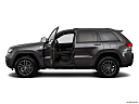 2019 Jeep Grand Cherokee Trailhawk, driver's side profile with drivers side door open.