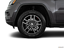 2019 Jeep Grand Cherokee Trailhawk, front drivers side wheel at profile.