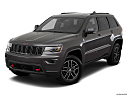 2019 Jeep Grand Cherokee Trailhawk, front angle view.
