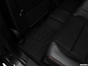 2019 Jeep Grand Cherokee Trailhawk, rear driver's side floor mat. mid-seat level from outside looking in.