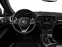 2019 Jeep Grand Cherokee Trailhawk, steering wheel/center console.