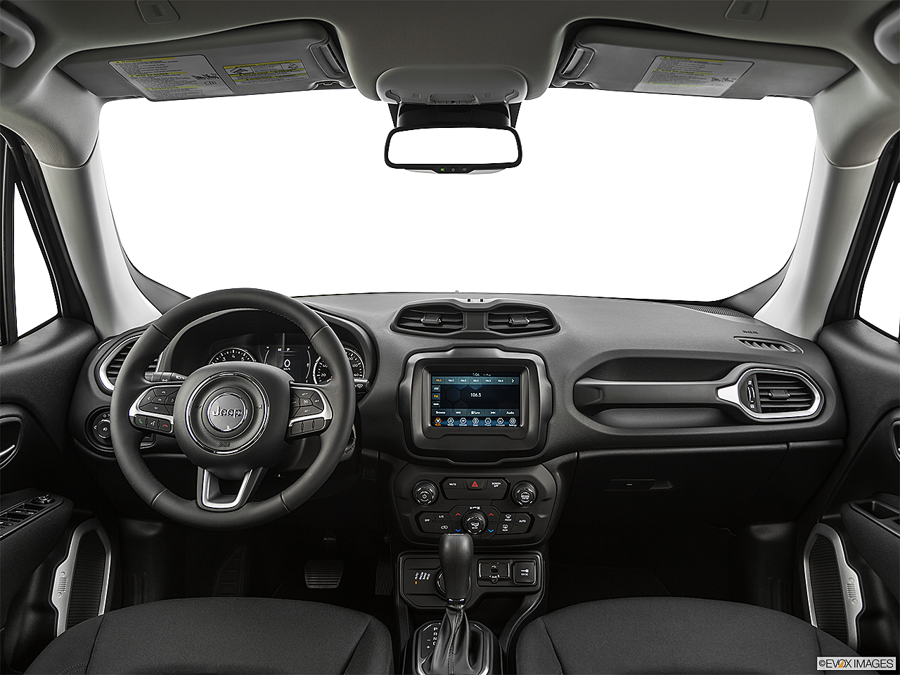 2019 Jeep Renegade Latitude, centered wide dash shot