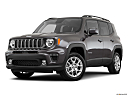 2019 Jeep Renegade Latitude, front angle medium view.