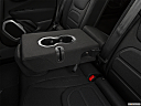 2019 Jeep Renegade Latitude, rear center console with closed lid from driver's side looking down.