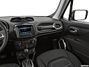 2019 Jeep Renegade Latitude, center console/passenger side.