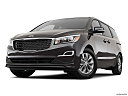 2019 Kia Sedona LX, front angle view, low wide perspective.