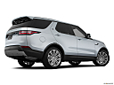2019 Land Rover Discovery HSE Luxury, low/wide rear 5/8.