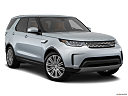 2019 Land Rover Discovery HSE Luxury, front passenger 3/4 w/ wheels turned.