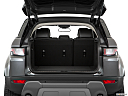 2019 Land Rover Range Rover Evoque HSE, trunk open.