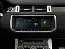 2019 Land Rover Range Rover Evoque HSE, closeup of radio head unit