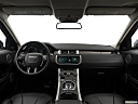 2019 Land Rover Range Rover Evoque HSE, centered wide dash shot
