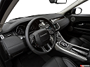 2019 Land Rover Range Rover Evoque HSE, interior hero (driver's side).