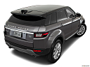 2019 Land Rover Range Rover Evoque HSE, rear 3/4 angle view.