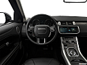 2019 Land Rover Range Rover Evoque HSE, steering wheel/center console.