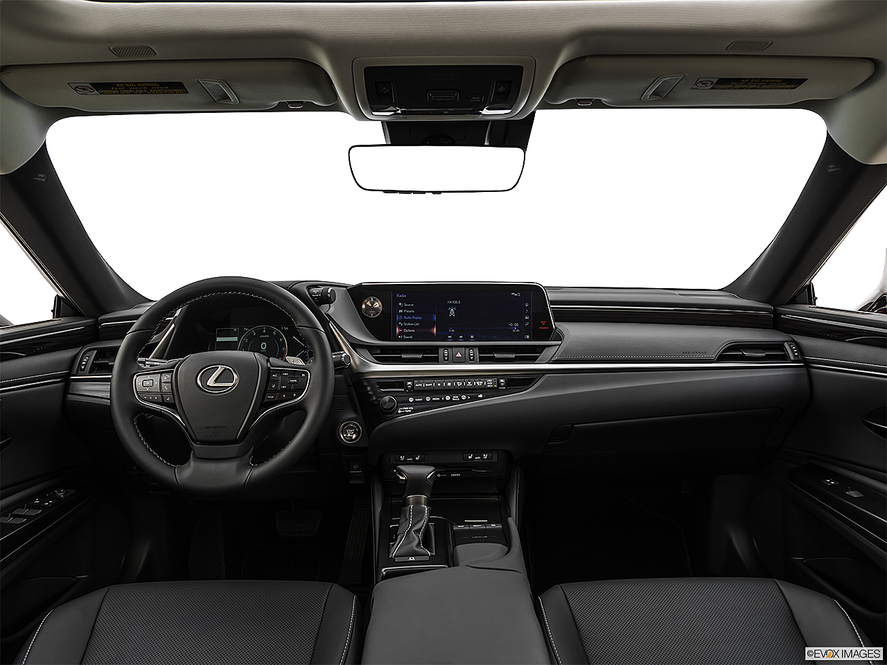 2019 Lexus ES ES 350, centered wide dash shot