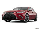 2019 Lexus ES ES 350, front angle view, low wide perspective.