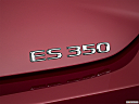 2019 Lexus ES ES 350, rear model badge/emblem