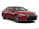2019 Lexus ES ES 350, front passenger 3/4 w/ wheels turned.