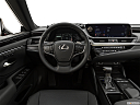 2019 Lexus ES ES 350, steering wheel/center console.