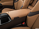 2019 Lexus ES ES 350 Luxury, front center console with closed lid, from driver's side looking down