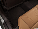 2019 Lexus ES ES 350 Luxury, rear driver's side floor mat. mid-seat level from outside looking in.