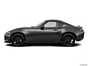 2019 Mazda MX-5 Miata RF Club, drivers side profile, convertible top up (convertibles only).