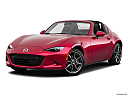 2019 Mazda MX-5 Miata RF Grand Touring, front angle medium view.