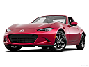 2019 Mazda MX-5 Miata RF Grand Touring, front angle view, low wide perspective.