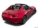 2019 Mazda MX-5 Miata RF Grand Touring, rear 3/4 angle view.