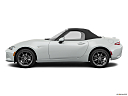 2019 Mazda MX-5 Miata Grand Touring, drivers side profile, convertible top up (convertibles only).
