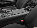 2019 Mazda MX-5 Miata Club, front center console with closed lid, from driver's side looking down