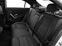 2019 Mercedes-Benz A-Class A220, rear seats from drivers side.