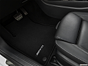 2019 Mercedes-Benz A-Class A220, driver's floor mat and pedals. mid-seat level from outside looking in.