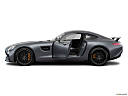2019 Mercedes-Benz AMG GT S, driver's side profile with drivers side door open.