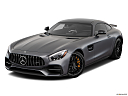 2019 Mercedes-Benz AMG GT S, front angle view.