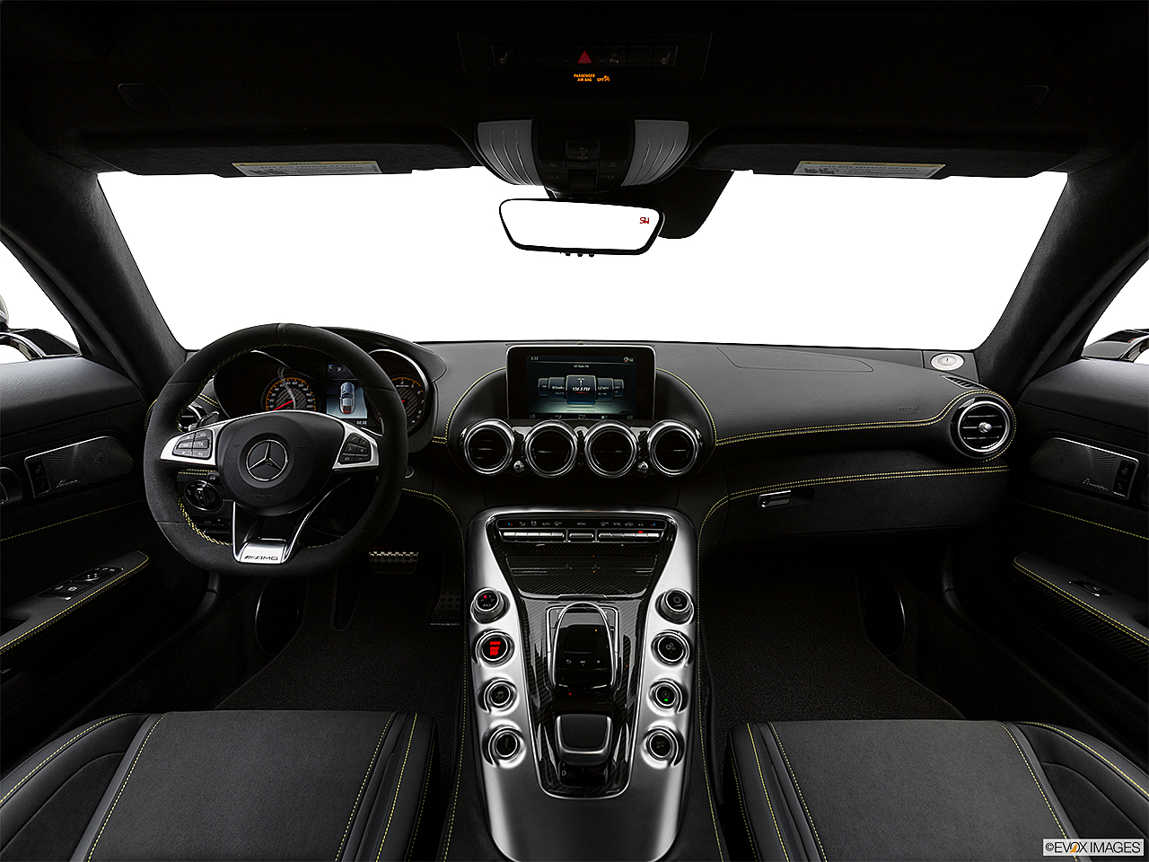 2019 Mercedes-Benz AMG GT S, centered wide dash shot
